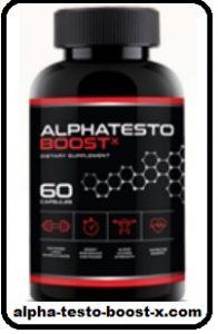 alpha testo boost x pills
